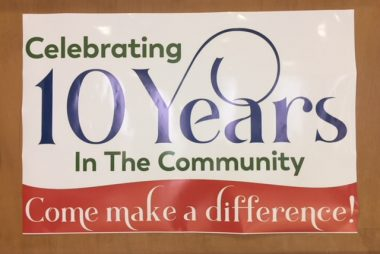 A big thank you to everyone who attended the 10th Anniversary Community Open House.